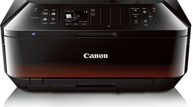 The Canon PIXMA MX922 Printer, Scanner, Copier and Fax is also ideal for the small business office